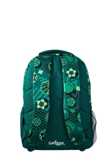 Smiggle Green Flow Backpack