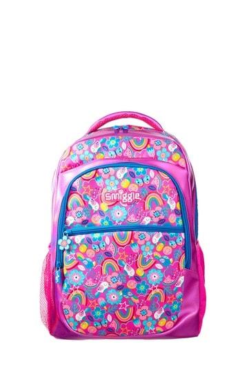 Smiggle Pink Flow Backpack