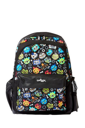 Smiggle Black Cheer Junior Backpack
