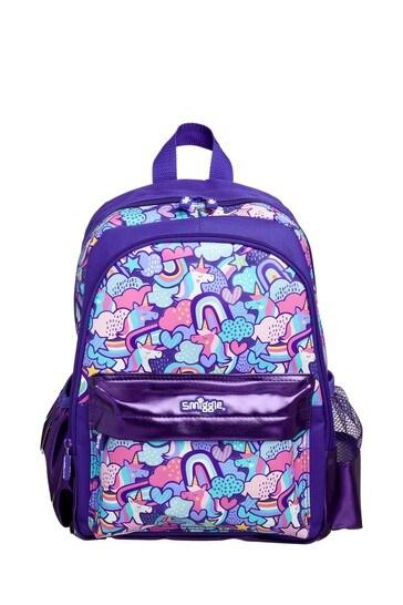 Smiggle Purple Cheer Junior Backpack