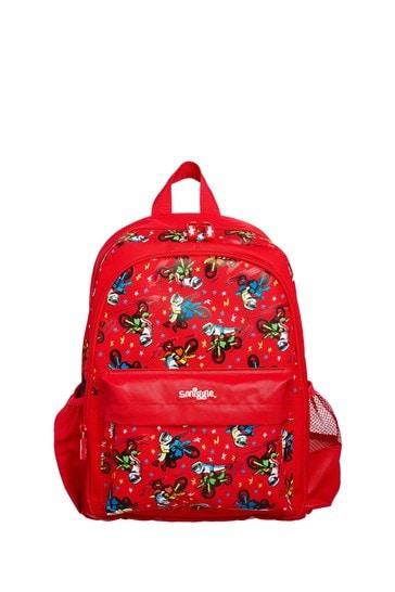 Smiggle Red Cheer Junior Backpack