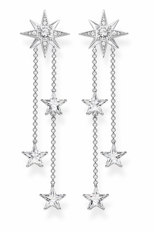 Thomas Sabo Magic Stars Silver Drop Earrings