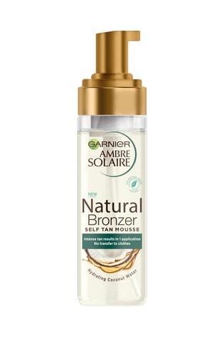 Garnier Ambre Solaire Natural Bronzer Intense Clear Self Tan Mousse 200ml