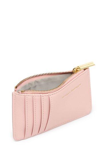 Estella Bartlett Pink Rectangle Card Purse