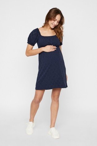 Mamalicious Maternity Jersey Short Dress