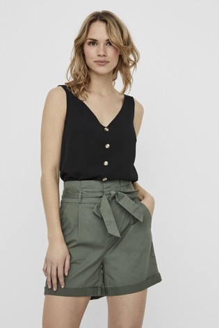 Vero Moda Sleeveless Button Top