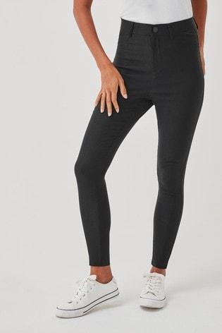 Vero Moda Black Skinny Stretch Trousers