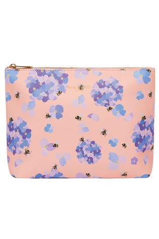 Fenella Smith Bee & Hydrangea Vegan Leather Washbag