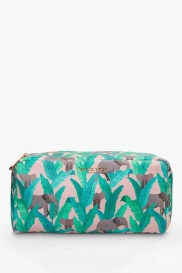Fenella Smith Elephant Vegan Leather Box Washbag