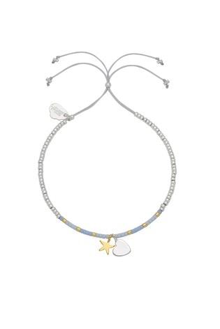 Estella Bartlett Heart and Star Liberty Bracelet