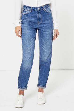 Topshop Short Leg Mom Jeans