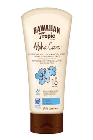 Hawaiian Tropic Aloha Care Protective Sun Lotion SPF 15 180ml