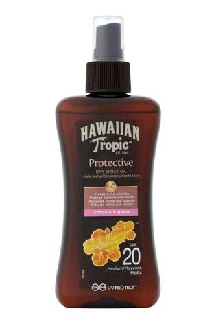 Hawaiian Tropic Protective Dry Spray Oil Coconut & Guava SPF 20 200ml
