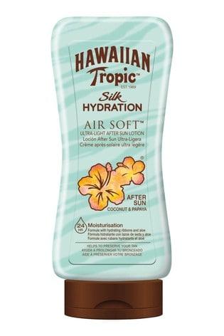 Hawaiian Tropic Silk Hydration Air Soft Ultra-Light After Sun Lotion Coconut & Papaya 180ml