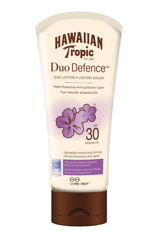 Hawaiian Tropic Duo Defence Sun Lotion SPF 30 180ml