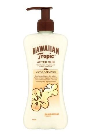 Hawaiian Tropic Ultra Radiance After Sun Moisturiser Island Mango Fragrance 240ml