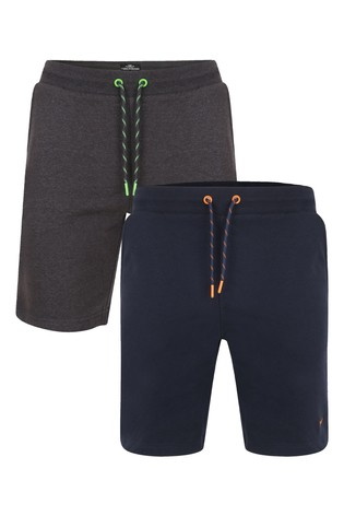 Threadbare Fleece Shorts Pack of 2