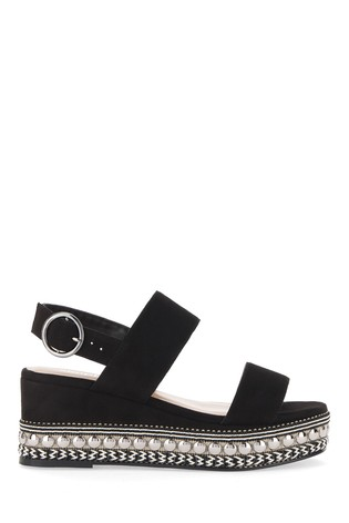 Simply Be Wide Fit Chunky Studded Sandal