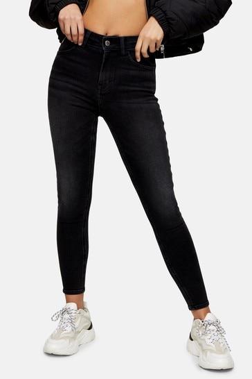 Topshop Regular Leg 5 Pocket Skinny Jeans