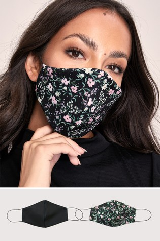 Lipsy 2 Pack Face Covering