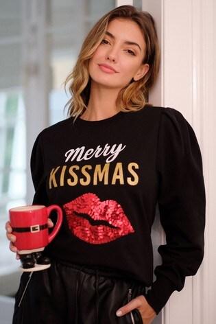 Lipsy Pitch Logo Sweatshirt