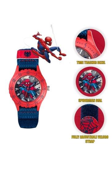 Marvel Blue Spiderman Kids Watch