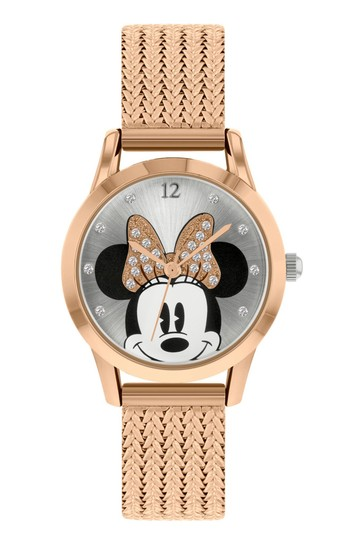 Minnie Mouse Gold Adults Watch
