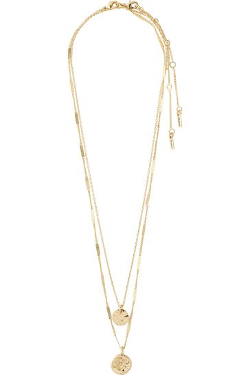 PILGRIM Gold Haven Necklace