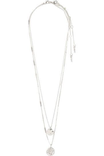 PILGRIM Silver Haven Necklace