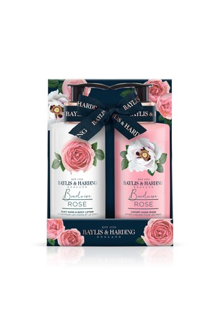 Baylis & Harding Boudoire Rose 2 Bottle Set,