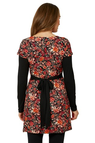 Joe Browns Floral Gorgeous 2 In 1 Tunic