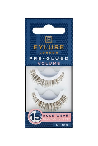 Eylure Pre-glued Volume No. 100 False Lashes