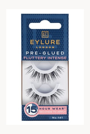 Eylure Pre-glued Fluttery Intense No. 141 False Lashes