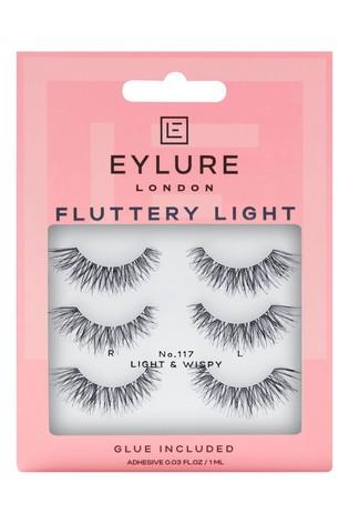 Eylure Fluttery Light No. 117 Multipack False Lashes