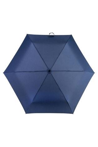 Totes Navy Mini Umbrella
