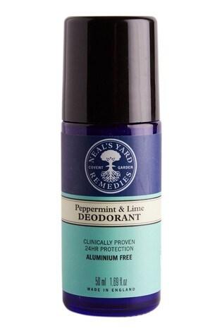 Neals Yard Remedies Peppermint & Lime Roll On Deodorant 50ml