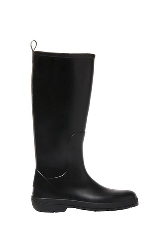 Totes Black Womens Claire Tall Rain Boot