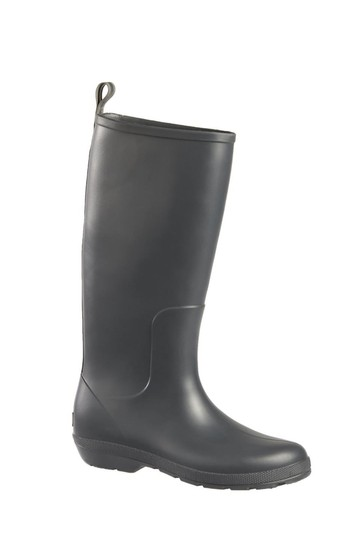 Totes Grey Womens Claire Tall Rain Boot