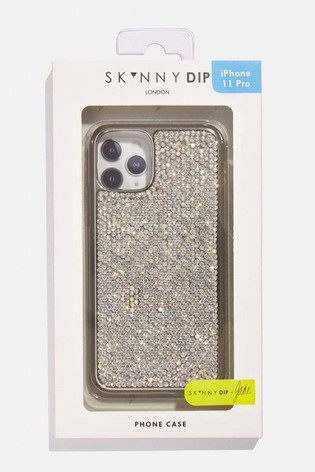Skinnydip Silver Bling Case
