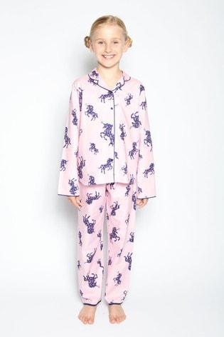 Cyberjammies Pink Long Sleeve PJ Set