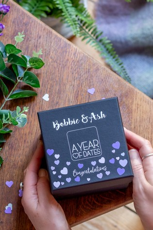 Personalised A Year of Dates: Lilac Edition
