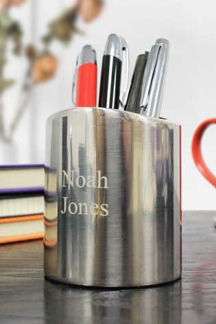 Personalised Luxury Pen Pot by CEG Collection