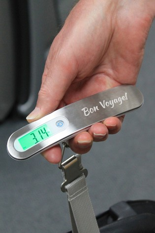 Personalised Digital Luggage Scales by CEG Collection