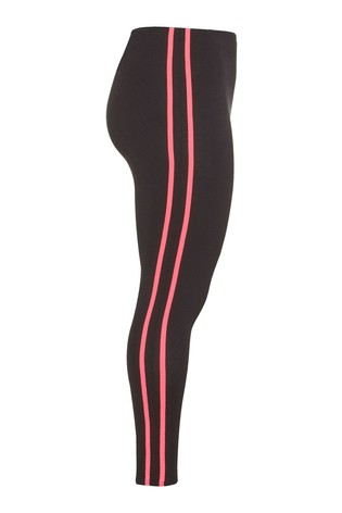 Yours Limited Black Collection Tape Leggings