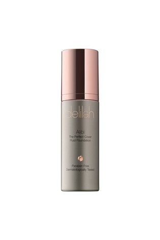 delilah ALIBI  The Perfect Cover Fluid Foundation