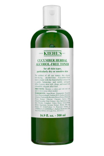 Kiehl's Cucumber Herbal Alcohol-Free Toner 500ml