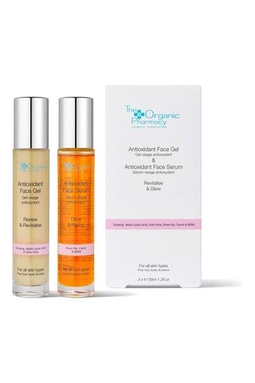 The Organic Pharmacy Antioxidant Face Serum & Antioxidant Face Gel