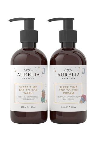 Aurelia Sleep Time Top to Toe Wash and Cream Duo 240ml