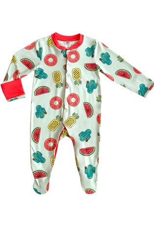 Chelsea Peers Green NYC Baby Inflatables Eco Short Pj Set