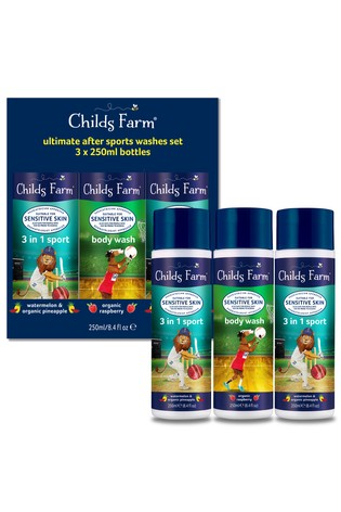 Childs Farm Ultimate Sports Wash 'N' Go Set